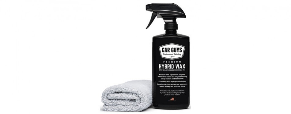 car guys hybrid wax spray