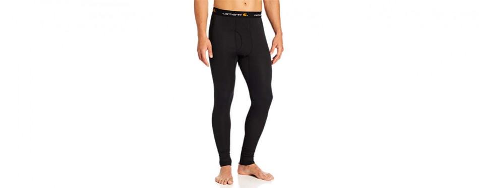 carhartt men's base layer force leggings