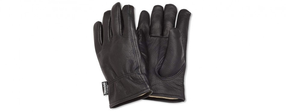 carhartt men's insulated leather glove