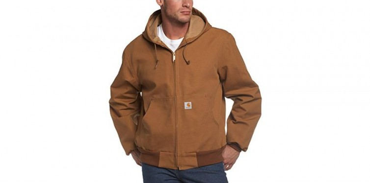 Big & Tall Thermal-Lined Duck Active Hoodie Jacket J131
