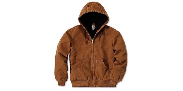 Quilted Flannel Lined Sandstone Active Jacket J130