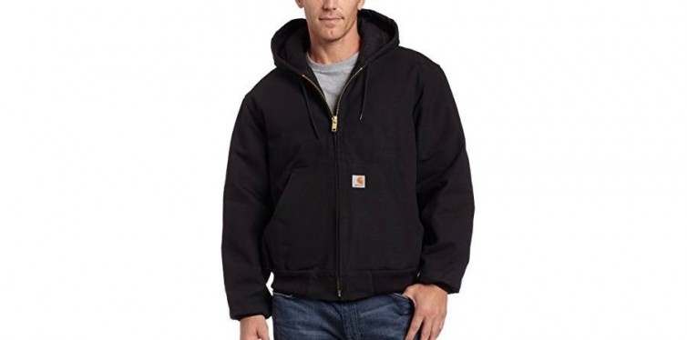 Quilted Flannel Lined Duck Active Jacket