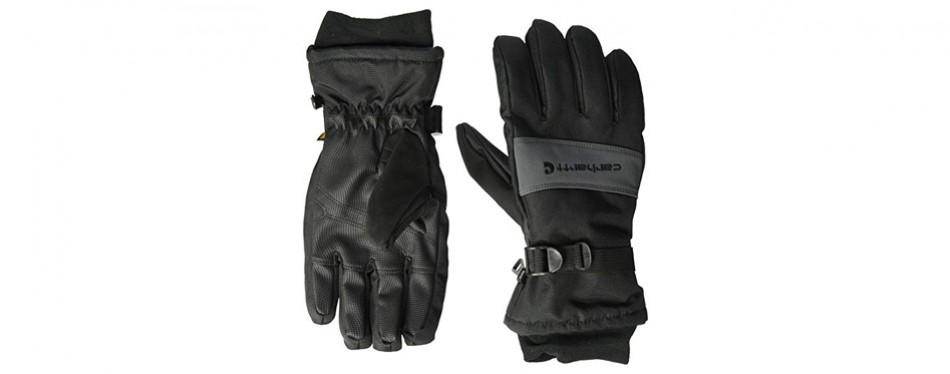 carhartt men's waterproof insulated glove