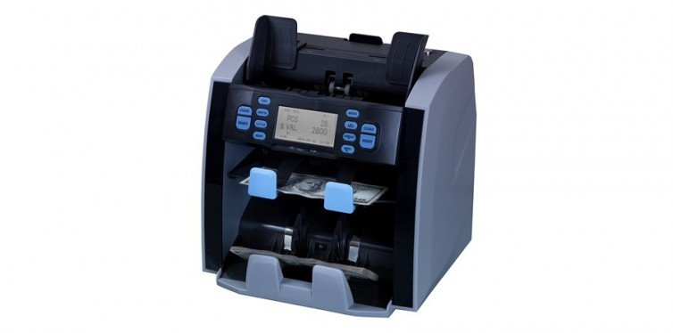 Mixed Denomination Bill Counter and Sorter - CARNATION CR1500