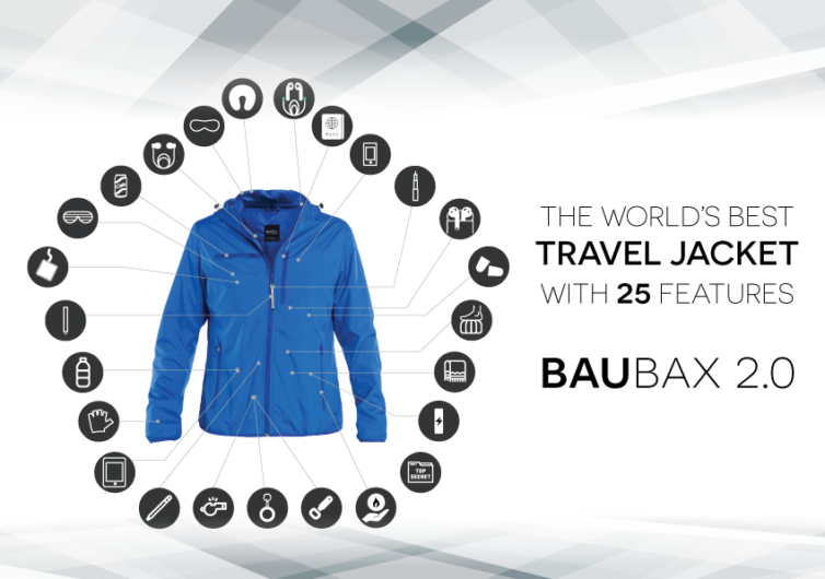 BauBax Travel Jacket 2.0