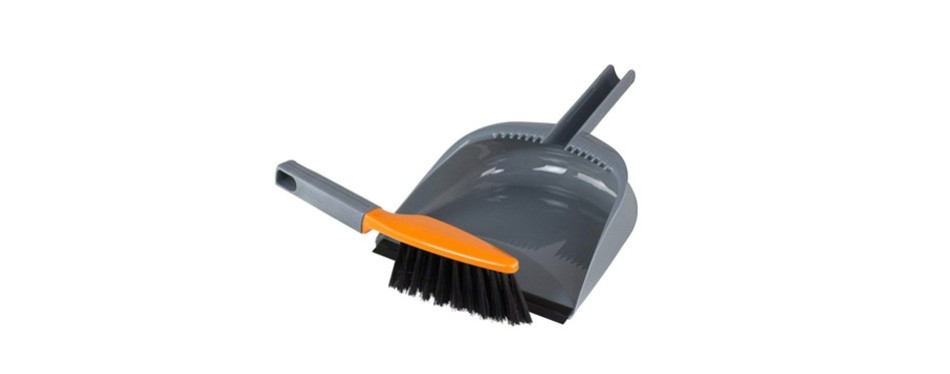 casabella 1 count dustpan and brush set