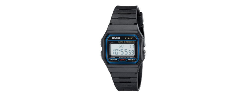 casio f91w-1 classic digital watch