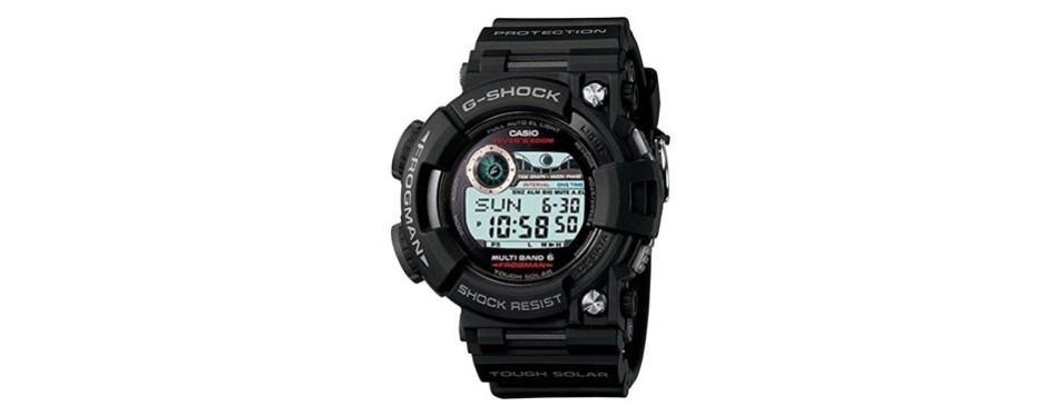 casio g-shock frogman solar quartz watch