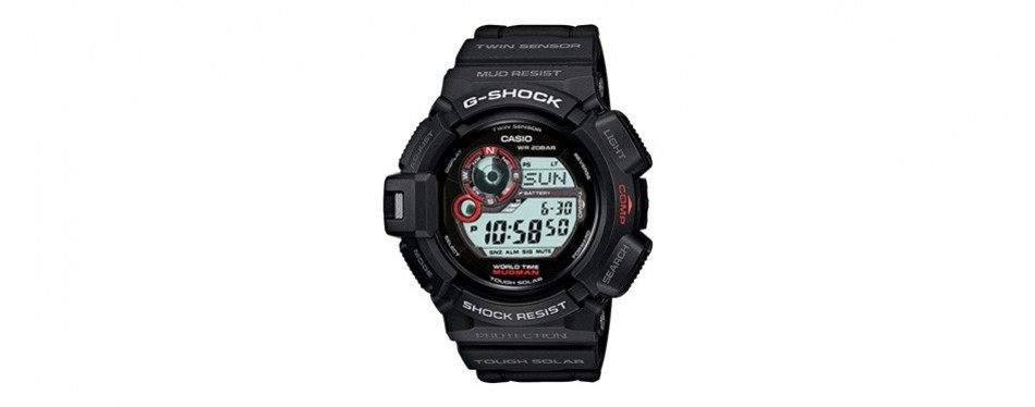 casio g shock mudman multifunction sports watch
