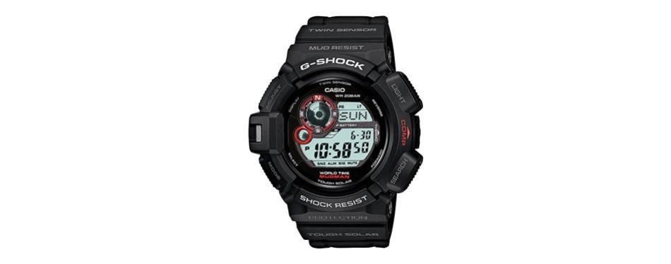 casio g shock mudman multifunction sports watch