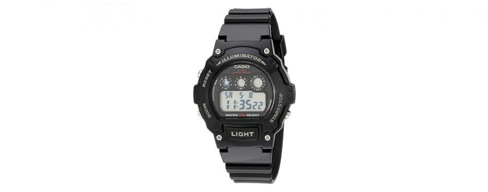 casio kids classic digital display watch
