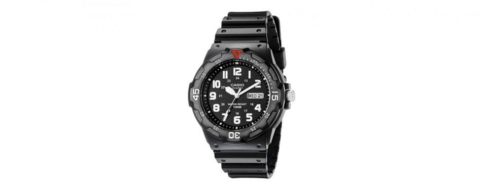 casio men's analog dive watch