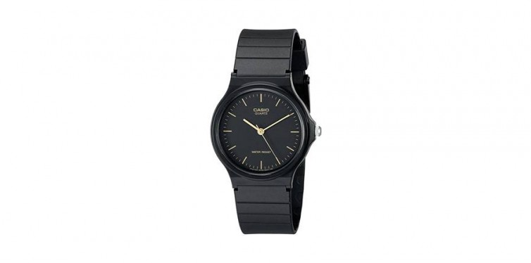 11. Casio Men's Black Resin Watch