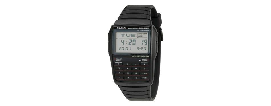 casio men's dbc32-1a data bank digital watch