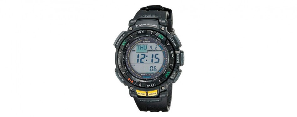 casio pathfinder triple sensor sport watch