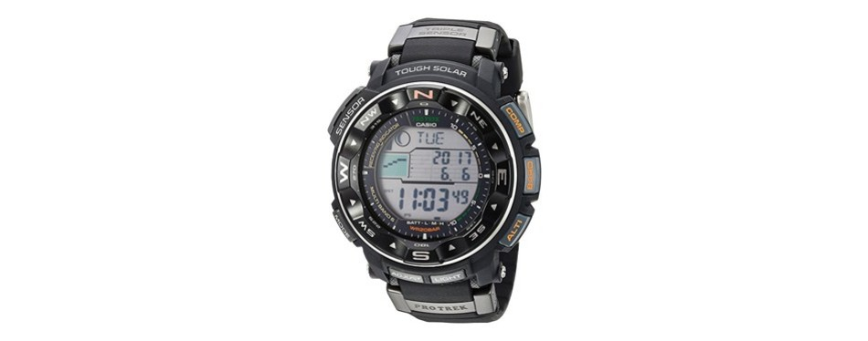casio pro trek solar sport watch