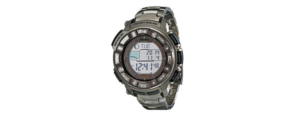 casio pro trek tough solar digital