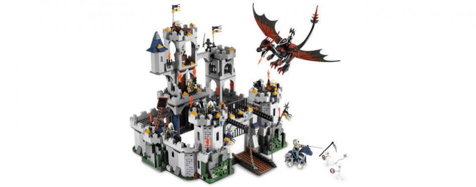castle king's lego castle set
