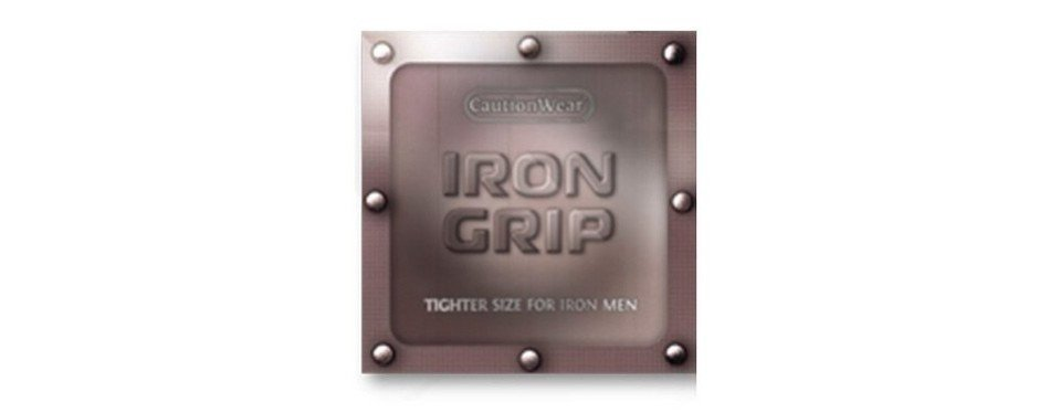 caution wear iron grip snugger fit