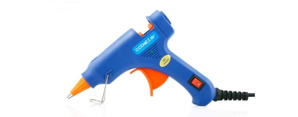ccbetter upgraded mini hot melt glue gun