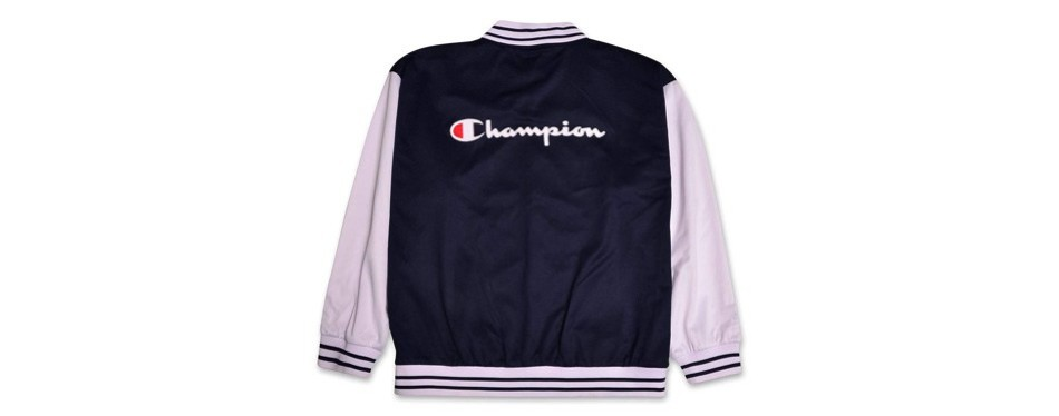 champions big and tall varsity track jacket