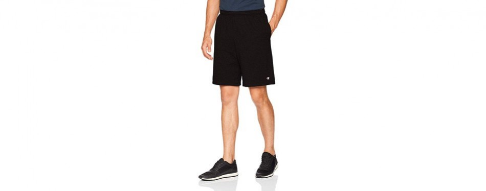 champions men's jersey gym shorts for men
