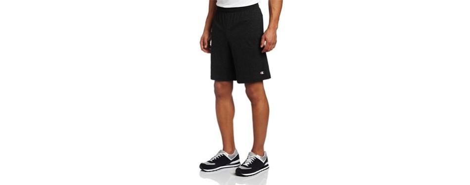 champions men's jersey shorts