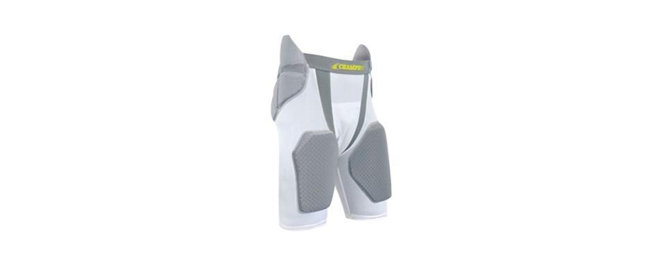 champro adult tri-flex integrated 5 pad girdle