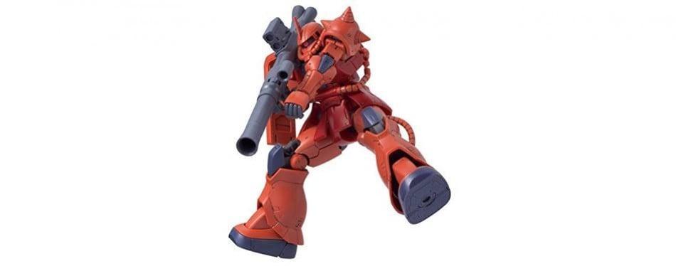 char's zaku ii kidou-senshi high grade gundam model kit the origin