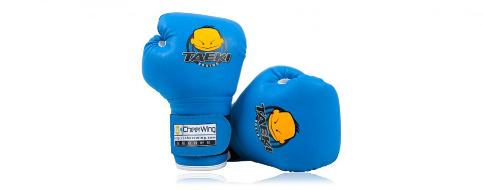 cheerwing pu kids cartoon sparring dajn boxing gloves
