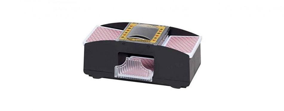 chh 2-deck automatic card shuffler