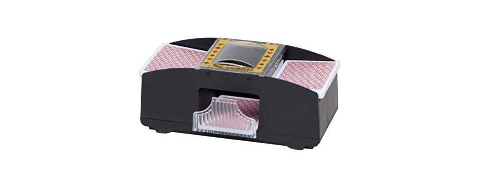 chh 2-deck automatic card shuffler
