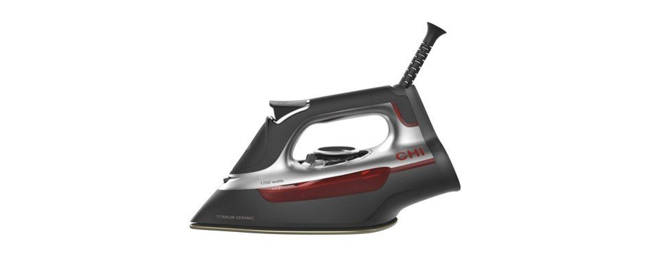 chi 13101 steam iron with titanium infused ceramic soleplate