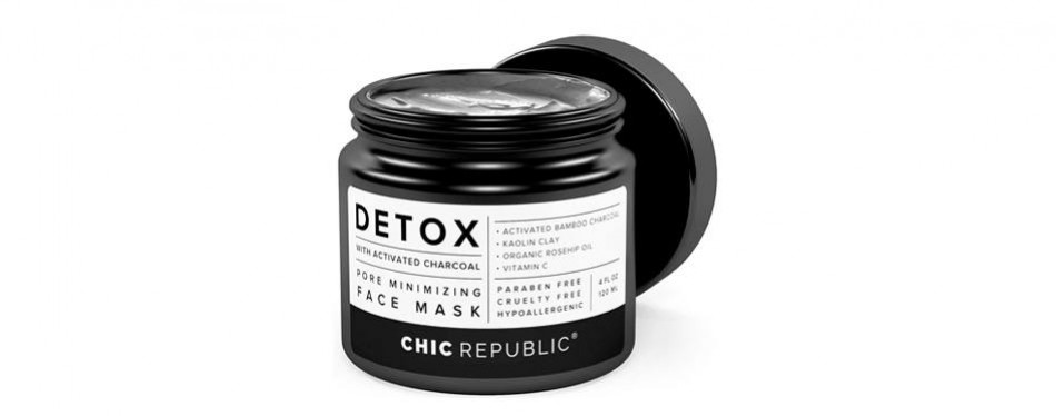 chic republic organic charcoal and clay mask