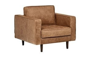 rivet aiden tufted mid-century accent chair