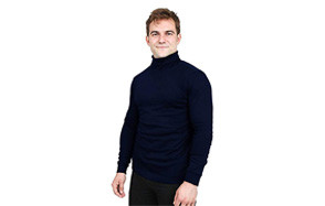 utopia wear turtleneck men t-shirt