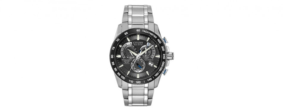 citizen eco-drive perpetual chrono atomic timekeeping watch