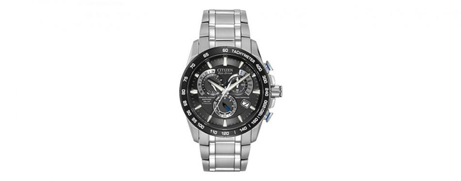 citizen eco-drive perpetual chronograph atomic