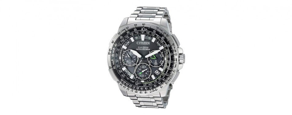 citizen eco-drive promaster navihawk satellite gps watch