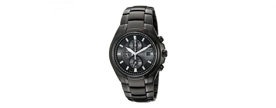 citizen eco-drive titanium chronograph