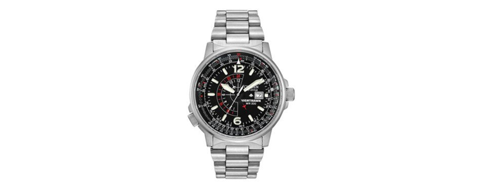 citizen men's eco-drive promaster nighthawk