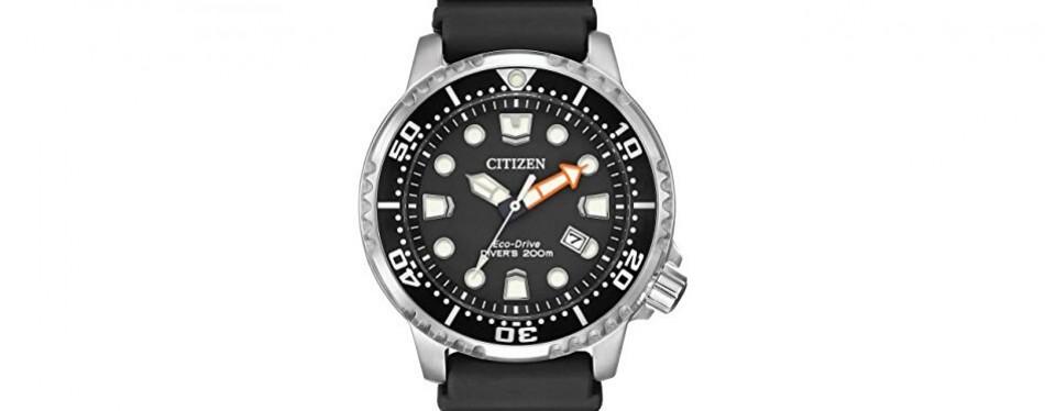 citizen men's promaster diver analog watch