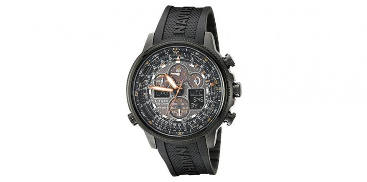 Citizen Men's Eco-Drive Navihawk Atomic Timekeeping Watch