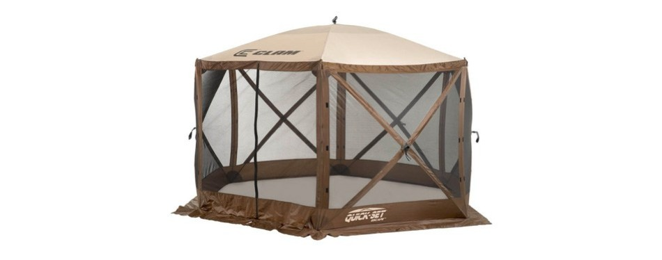 clam corporation 9879 quick-set escape shelter (pop up canopy)
