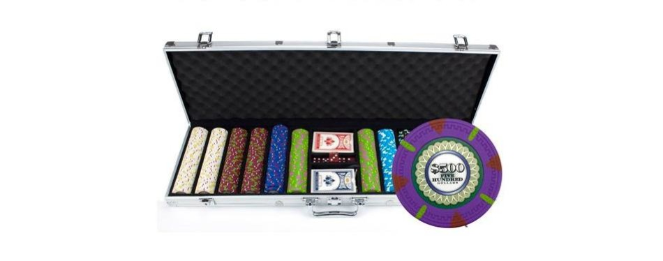 claysmith gaming 'the mint' poker chip set
