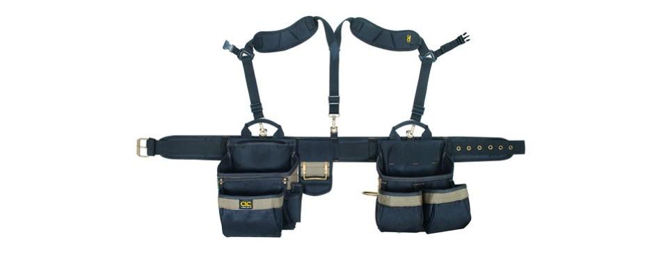 clc custom leathercraft heavy duty framers tool belt system
