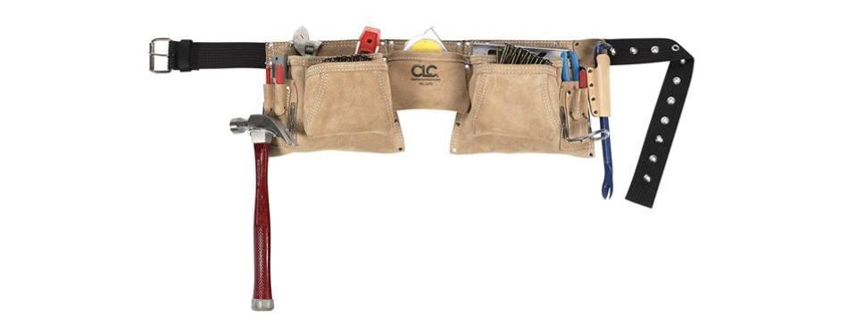 clc custom leathercraft heavy duty suede construction apron
