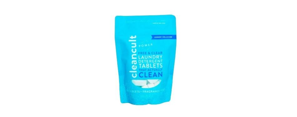 cleancult - biodegradable laundry detergent