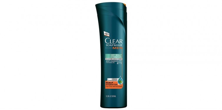 Clear Scalp and Hair Men Dry Scalp Hydration