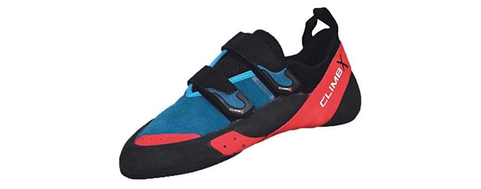 climb x redpoint rock climbing shoes